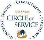 NASMM Circle of Service logo